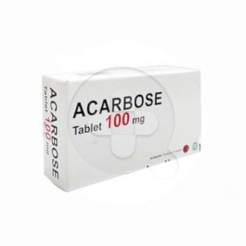 Acarbose Tablet 100 mg harga terbaik 18515