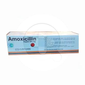 Amoxicillin Errita Kaplet 500 mg  harga terbaik