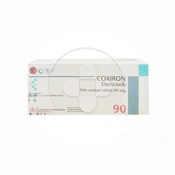 Coxiron Tablet adalah obat untuk meringankan gejala radang sendi seperti osteoporosis.