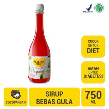 Tropicana Slim Sirup Cocopandan 750 ml harga terbaik 35700