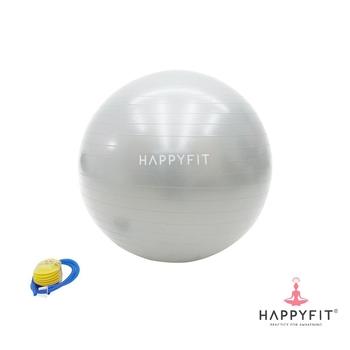 Happyfit Yoga Anti Burst Gym Ball 75 cm - Grey harga terbaik 195000