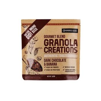 Granola Creation - Granola 'Dark Chocolate Banana' Gourmet Mix 60 g harga terbaik 12495