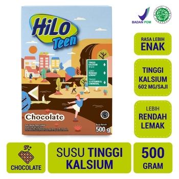 HiLo Teen Chocolate 500 g harga terbaik 88400