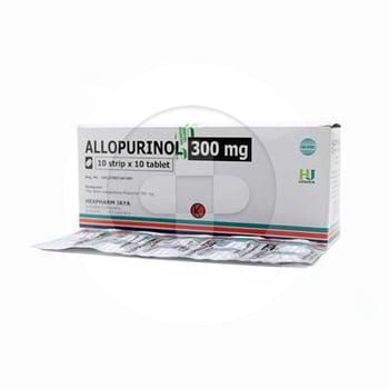 Allopurinol Hexpharm 300 mg (1 Strip @ 10 Tablet)
