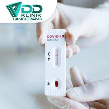 Rapid Test COVID-19 di Klinik Pratama Gerai Sehat Tangerang 1, Banten