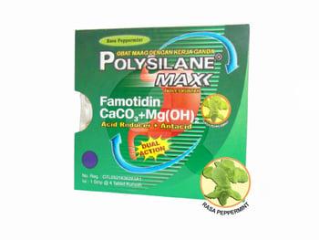 Polysilane Max Rasa Peppermint Tablet  harga terbaik 7956