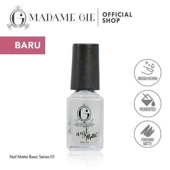 Madame Gie Nail Matte 01 Elastic harga terbaik 7200