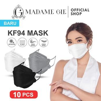 Madame Gie Protect You KF94 Mask Isi 10 Pcs - Abu abu harga terbaik 50000