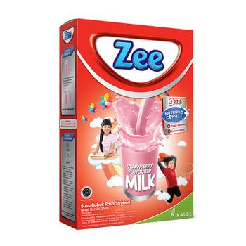 Zee Reguler Strawberry Milk 350 g harga terbaik
