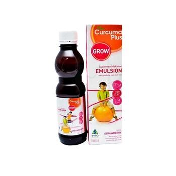 Curcuma Plus Emulsion Grow Rasa Jeruk 100 mL harga terbaik