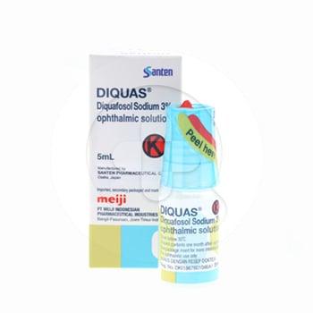 Diquas Eye drops digunakan untuk mengatasi mata kering