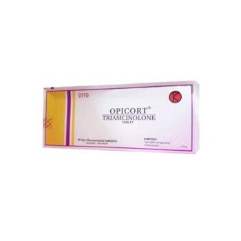 Opicort tablet adalah untuk mengobati panyakit kulit, gangguan endokrin, dan alergi.