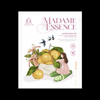 Madame Gie Essence Blanket Mask Yuzu Lemon harga terbaik 12500