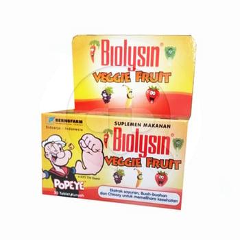 Biolysin Veggie & Fruit Tablet  harga terbaik 1173