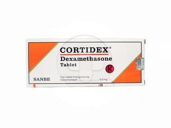 Cortidex Tablet 0,5 mg (1 Strip @ 10 Tablet)