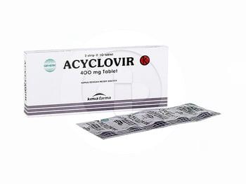 Acyclovir Kimia Farma Tablet 400 mg  harga terbaik