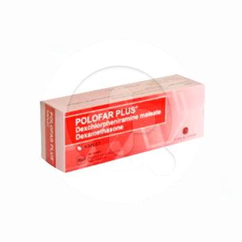 Polofar Plus kaplet adalah obat untuk mengatasi gejala alergi