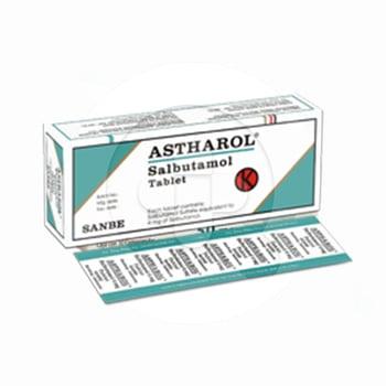 Astharol tablet adalah obat untuk mengatasi gangguan saluran pernapasan seperti bronkospasme.