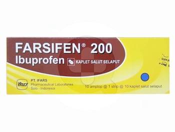 Farsifen Tablet 200 mg (1 Strip - 10 Tablet)   Beli Online Toko SehatQ, Gratis Ongkir