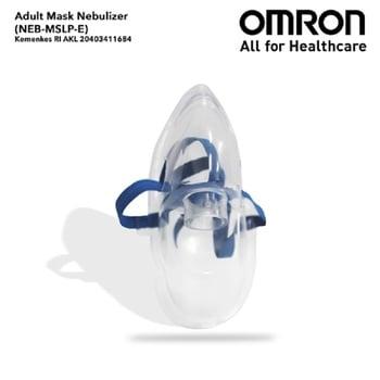 Omron Adult Mask Nebulizer harga terbaik 60500