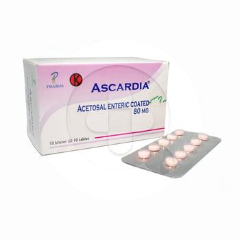 Ascardia tablet adalah obat untuk meredakan demam dan nyeri dada
