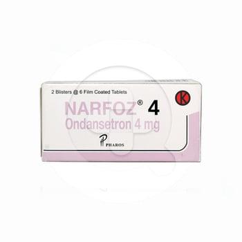 Narfoz tablet adalah obat yang digunakan untuk mengatasi mual dan muntah