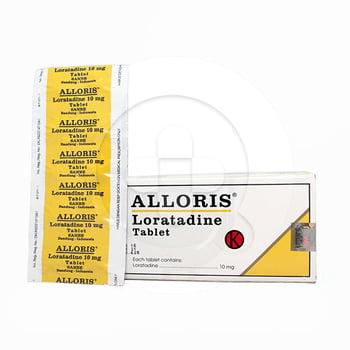 Alloris tablet adalah obat untuk meredakan gejala alergi seperti alergi kulit dan rhinitis alergi
