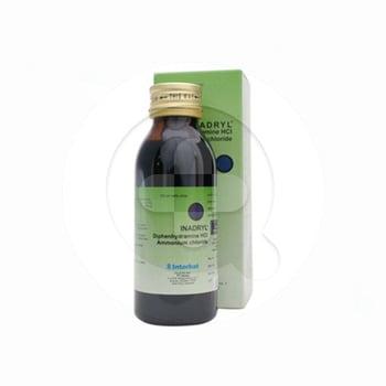 Inadryl sirup berguna untuk meredakan batuk berdahak atau batuk alergi dan mengurangi gejala alergi