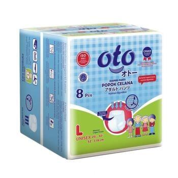 OTO Adult Diapers Pants / Popok Dewasa Model Celana - L  harga terbaik 64000