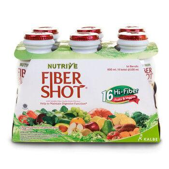 Nutrive Fibershot Friut Veggie 6 x 100 ml harga terbaik 42000