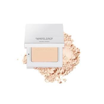 Holika Holika Naked Face Veil-Fit Cover Pact 01 - Light Beige harga terbaik 298000