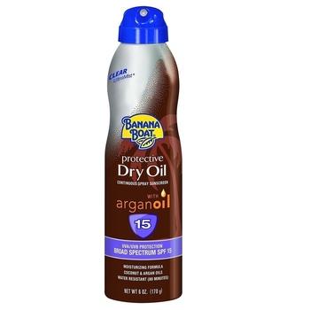 Banana Boat Protective Dry Oil With Argan Oil SPF15 170 g harga terbaik 239800