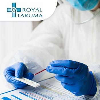 Rapid Test Antibody Kuantitatif 2019-N Cov NAB di Rs Royal Taruma,Jakarta Barat