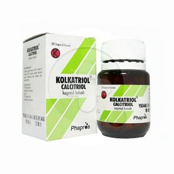 Kolkatriol kapsul adalah obat untuk mengobati osteoporosis dan hipoparatiroid.