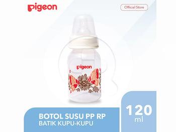 Pigeon Botol Susu PP RP 120 mL - Batik Kupu harga terbaik 45000