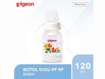 Pigeon Botol Susu PP RP 120 mL - Bebek harga terbaik 45000