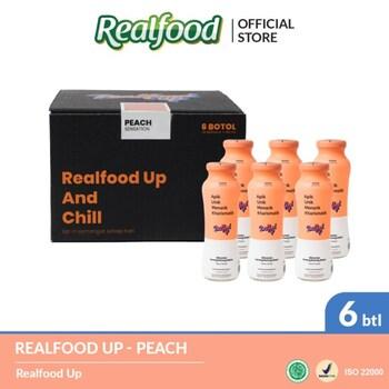 Realfood Up Peach & Collagen harga terbaik 245000