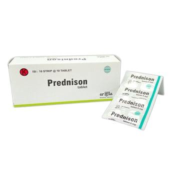 Prednisone Tablet adalah obat untuk artritis reumatoid asma bronkhial lupus.