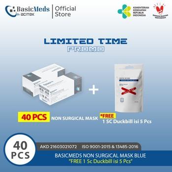 BasicMeds Non-Surgical Mask Earloop  harga terbaik 100000