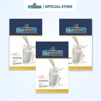 Susu Kambing Etawa NutriGOAT Susu Kambing Bernutrisi 200 g  harga terbaik 158000