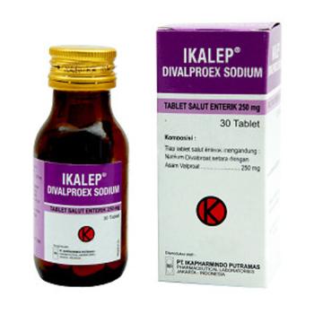 Ikalep tablet adalah obat untuk mengatasi kejang, terutama kejang karena epilepsi