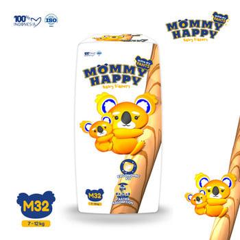 Mommy Happy Baby Diapers M32 harga terbaik 39900