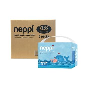 Neppi Premium Baby Diaper Pants XL 22 - Karton  harga terbaik 393300