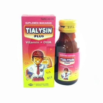 Tialysin Plus Sirup 60 ml harga terbaik 6505