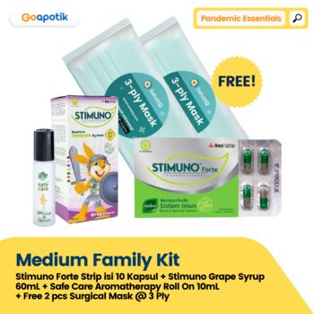 GoA Medium Family Kit - Pandemic Essentials harga terbaik