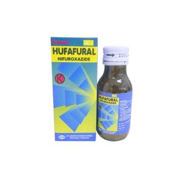 Hufafural suspensi adalah obat untuk mengobati masalah diare akibat infeksi bakteri.