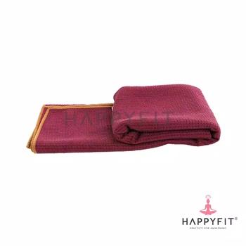 Happyfit Yogamat Towel - Maroon harga terbaik 350000