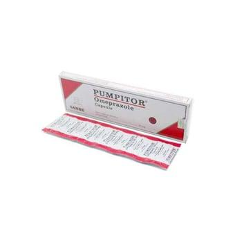 Pumpitor kapsul adalah obat untuk membantu menurunkan asam lambung