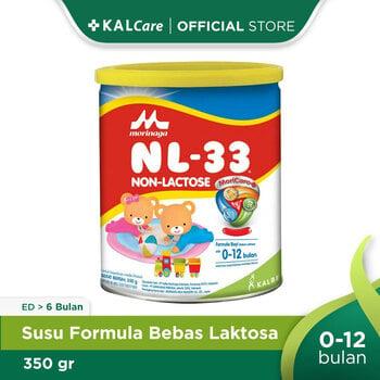 Morinaga NL-33 Non Lactose 33 Plain 350 g harga terbaik