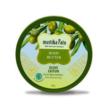 Mustika Ratu Body Butter Zaitun 200 g harga terbaik 52000
